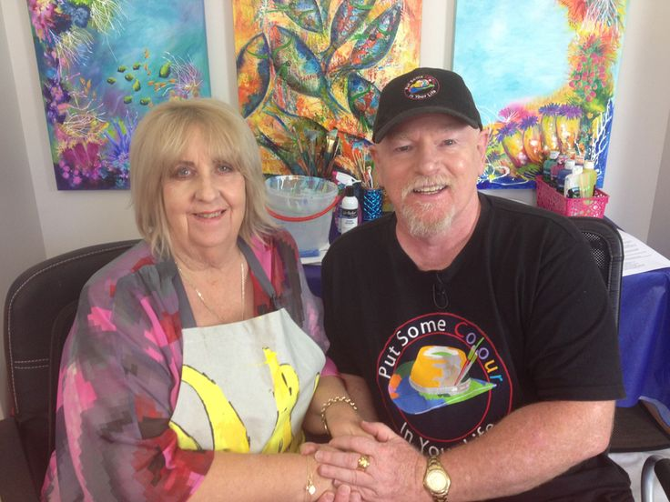 Lyn Olsen and Graeme Stevenson