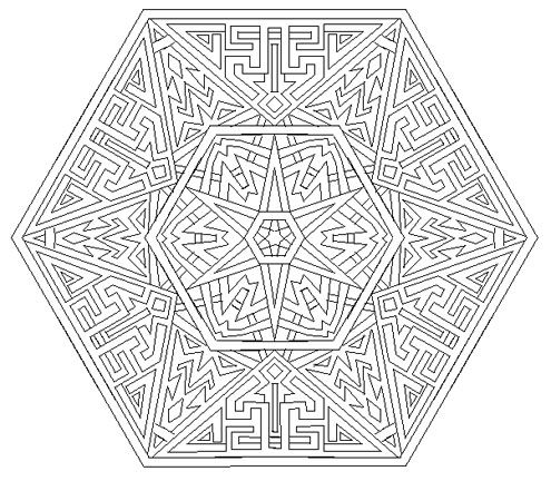 mandala coloring pages as therapy - photo#10