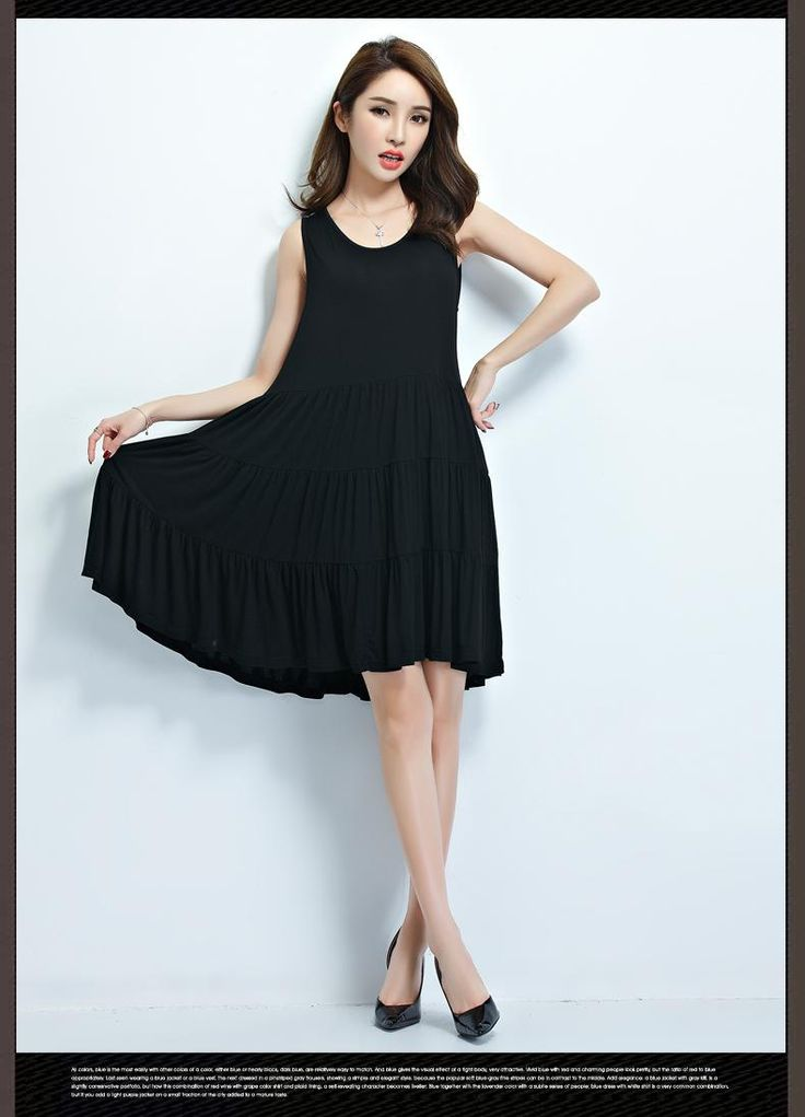 explore black summer dresses