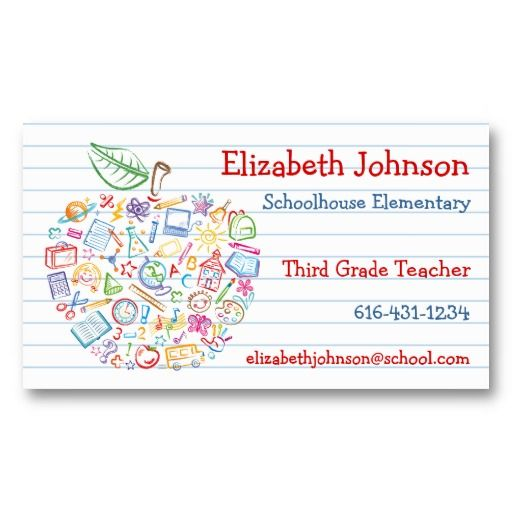 Teacher business cards free templates best business cards teacher business cards free templates choice image card design accmission Choice Image