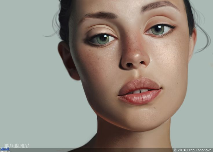 Большие глаза — Компьютерная графика и анимация — Render.ru