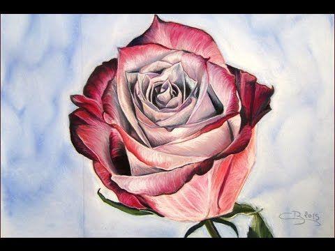 Beliebt Les 25 meilleures idées de la catégorie Dessiner une rose sur  ZJ79