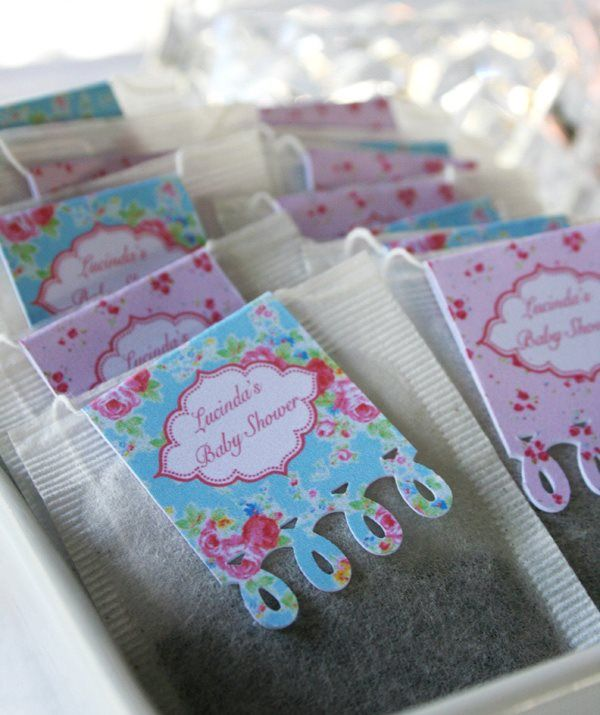 Personalised tea bags Tea Party supplies and shopping guide | Life's Little Celebrations