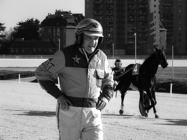 The jockey - Milano - Ippodromo del trotto