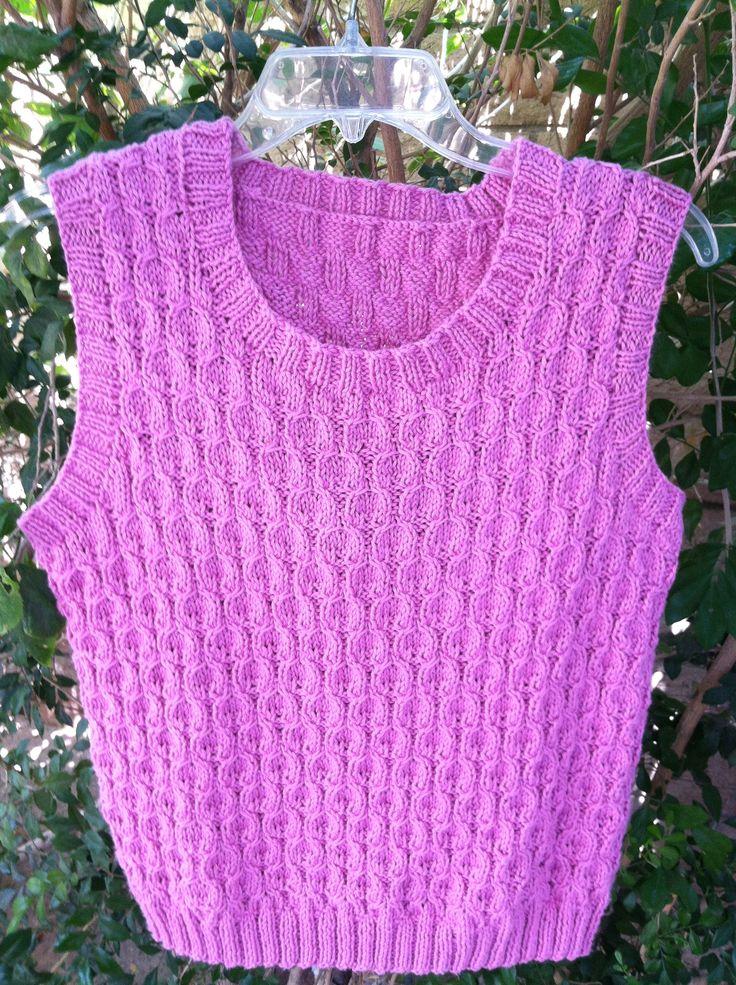 Cascade Yarn, Pima silk. An easy sweater & fun to knit ...