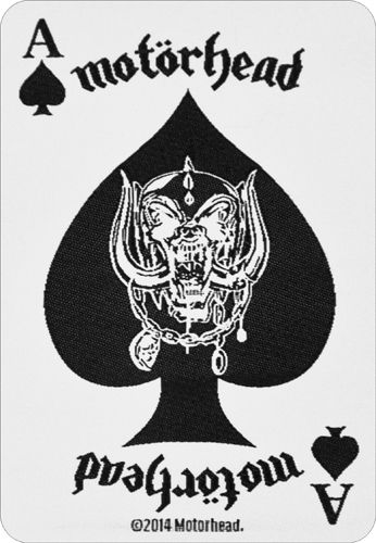 Patch MOTORHEAD - Ace Of Spades Card