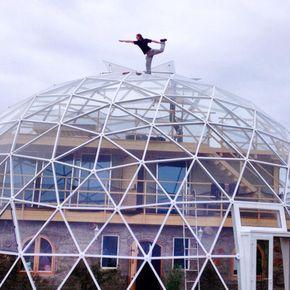 SOLARDOME PRO geodesic dome eco home, Norway