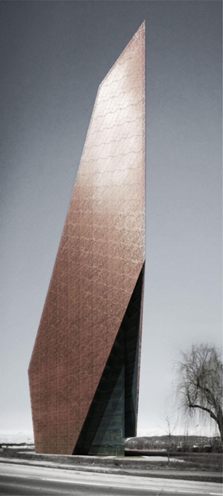 H/2_CRODUX TOWER,Croatia,by UPI2M 20+10+X World Architecture Community Awards 5. Cycle Winner #futuristicarchitecture