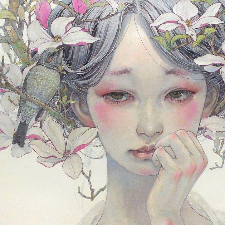 El pintor Miho Hirano nos ofrece su particular visión de las mujeres que parecen salidas de un sueño, así nos ofrece a la mujer etérea y fragmentos del mundo natural que nos hablan deanhelo y melancolía que atrae al espectador en llamativos fantasía tierras de sus personajes. Sus obrasrepresentan a las mujeres como seres salidos […]