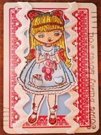 Artcrossing: Art Trading Card