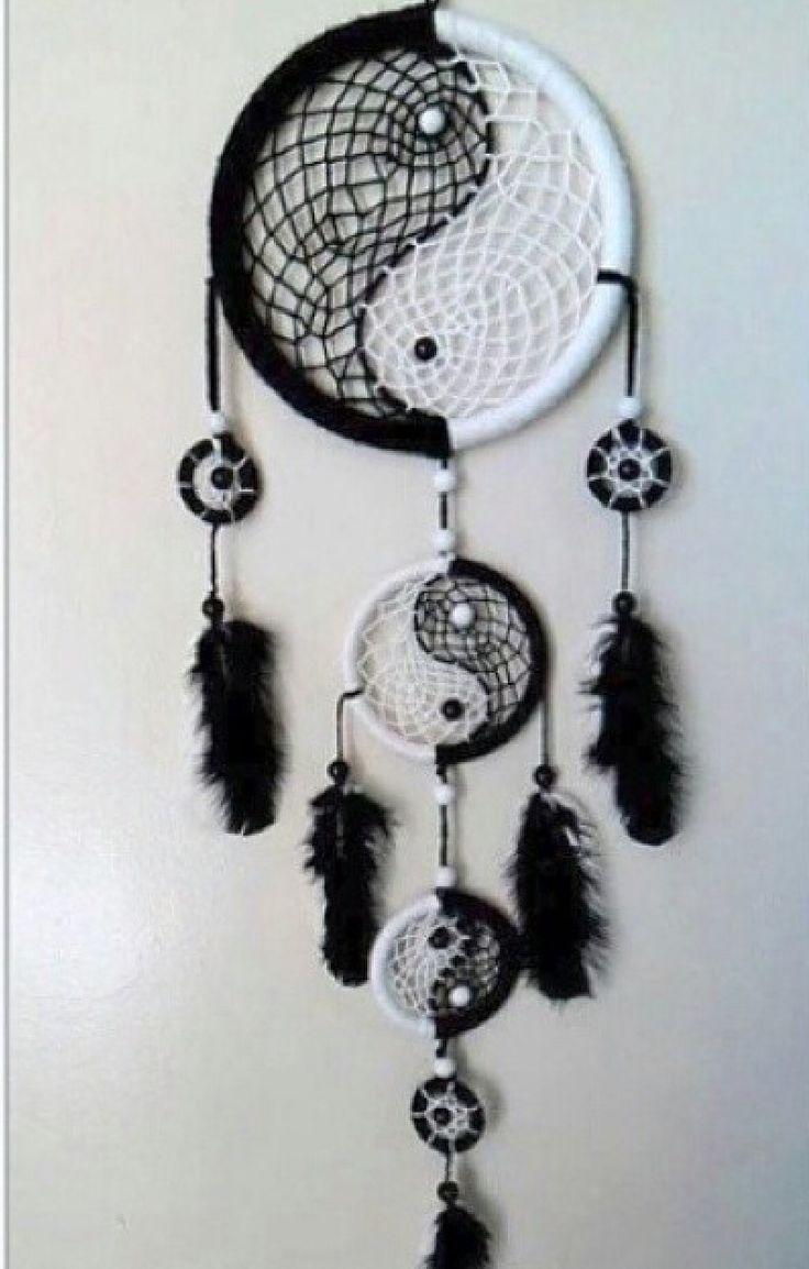 Dream Catcher Black/White