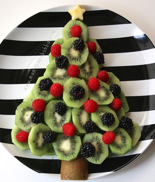 30 délices en forme de sapin de Noël - Vite une recette