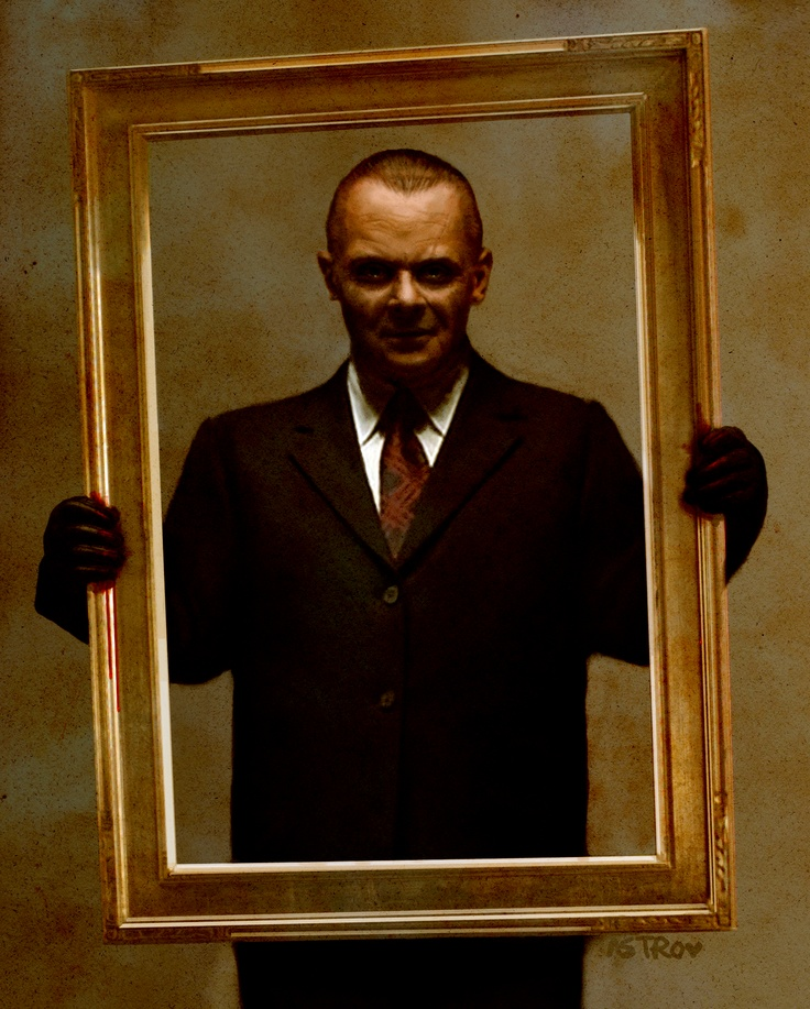 Hannibal Lecter... My ultimate favorite character of all time. Could watch the Hannibal series repeatedly. Anthony Hopkins brought class, sophistication and shock value to the silver screen like no one could ever do again.