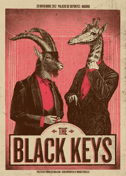 The Black Keys - Palacio De Deportes, Madrid - Error Design