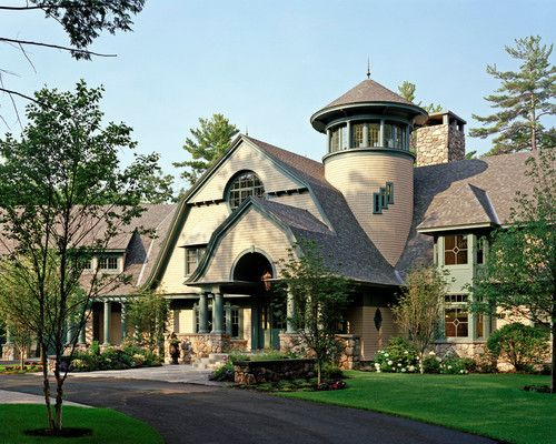 Wolfeboro lakeside manor, NH. TMS Architects.