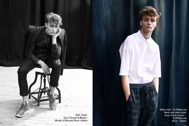 Dylan Bell at Wilhelmina photographed by Joel Esposito and styled by Jessica Albano with pieces from Moods of Norway, Phillip Lim, Tiger of Sweden, John Varvatos and more, in exclusive for Fucking Young! Online. Hair... »