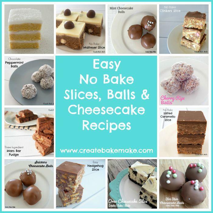 No Bake Slice Recipes