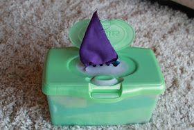Meet the Eliuks: Toddler Activities ~ Homemade Kleenex Box