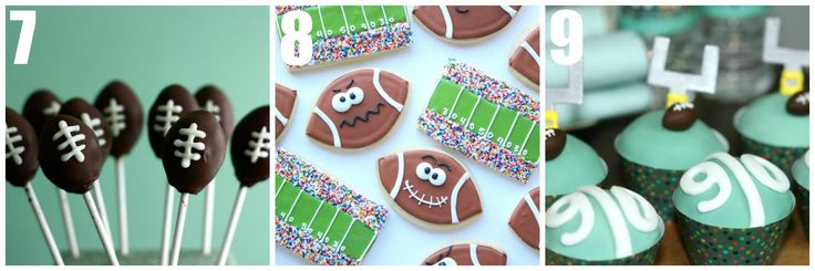 Fabulous football dessert ideas!