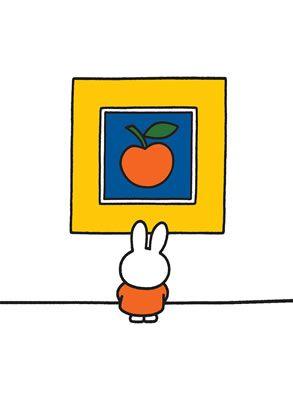 #Miffy #Rabbit #Print #Orange #MiniPoster #Postcard #TeaTowel #ToteShopperBag #Magnetic #NotePad www.stareditions.com
