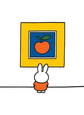 #Miffy #Rabbit #Print #Orange #MiniPoster #Postcard #TeaTowel #ToteShopperBag #Magnetic #NotePad www.stareditions.com