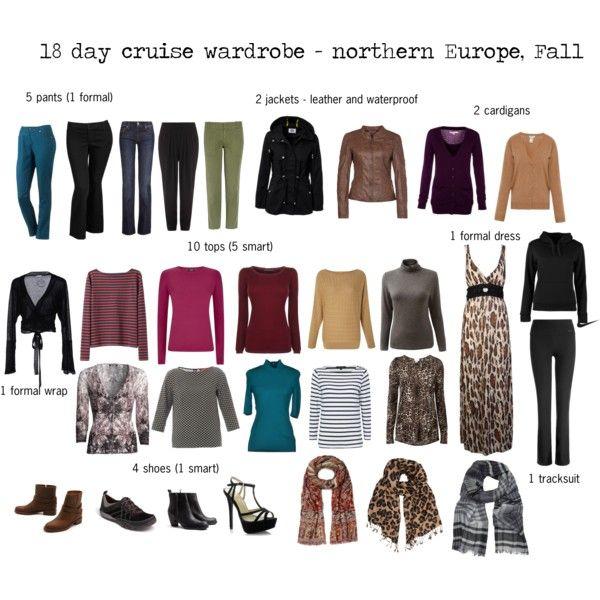 Europe Cruise Wardrobe - fall travel