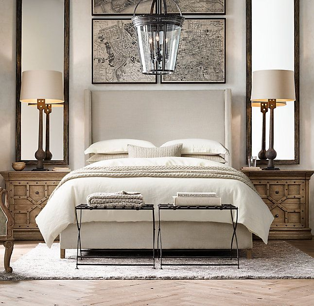 Restoration Hardware Bedroom Colors Cute Black And White Bedroom Ideas Little Boy Bedroom Furniture Girls Bedroom Colour Ideas: Best 25+ Mirror Behind Nightstand Ideas On Pinterest