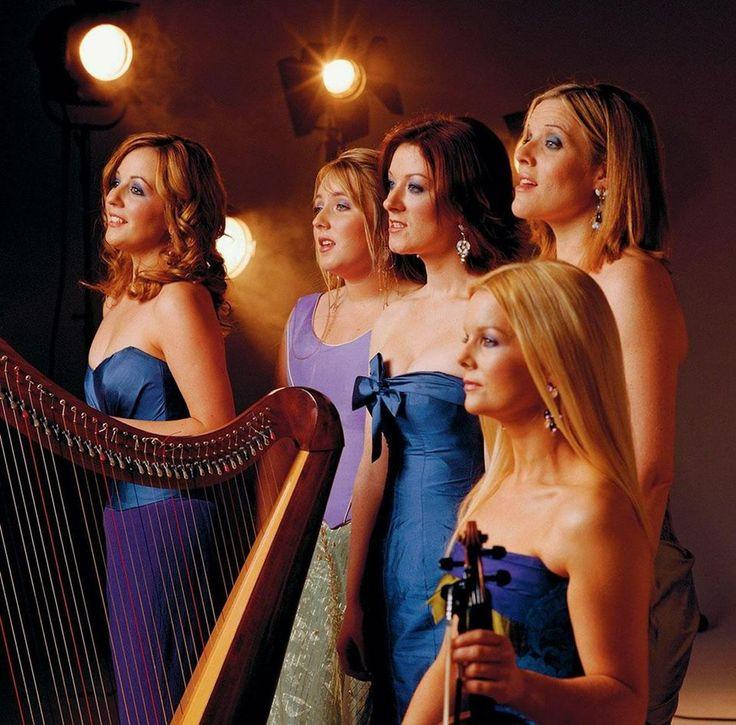 The original group...Lisa Kelly, Chloe Agnew, Orla Fallon, Meav and Mareid Nesbit.