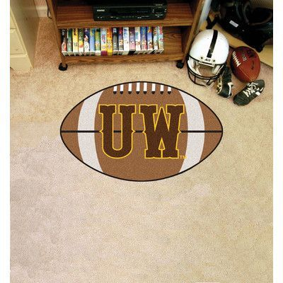 FANMATS NCAA University of Wyoming Football Mat