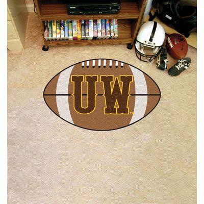 FANMATS NCAA University of Wyoming Football Mat