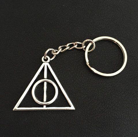 Nyckelring  Dödsrelikerna - Deathly Hallows - Harry Potter SILVER - Accessoarer