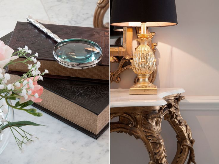 Close up detail of table accessories | JHR Interiors