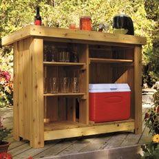 810 best outback shack/ kitchen images on pinterest | diy, license ... - Diy Patio Bar Ideas