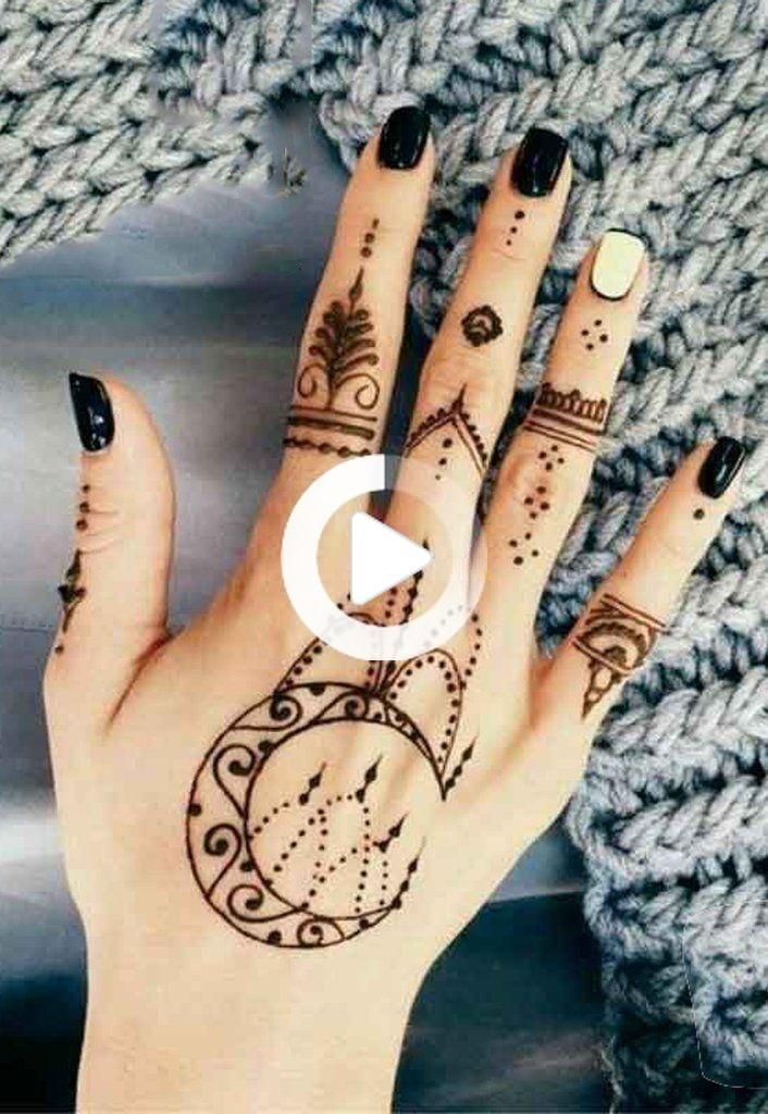 Womens Black Boho Tribal Moon Chandelier Hand Tattoo Ideas For Teens Tribal Moon Hand In 2020 Hand Tattoos Henna Tattoo Hand Mandala Hand Tattoos