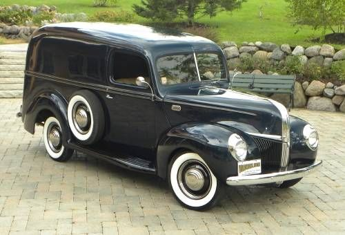 1941 Ford Delivery Maintenance/restoration of old/vintage vehicles: the material for new cogs/casters/gears/pads could be cast polyamide which I (Cast polyamide) can produce. My contact: tatjana.alic@windowslive.com