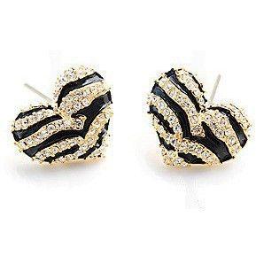 2016 New Hot Style restoring ancient ways zebra love joker female stud earrings
