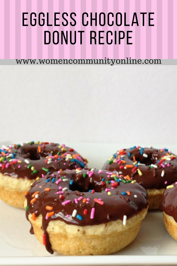 Eggless Chocolate Donut Recipe: A Christmas Treat Recipe
