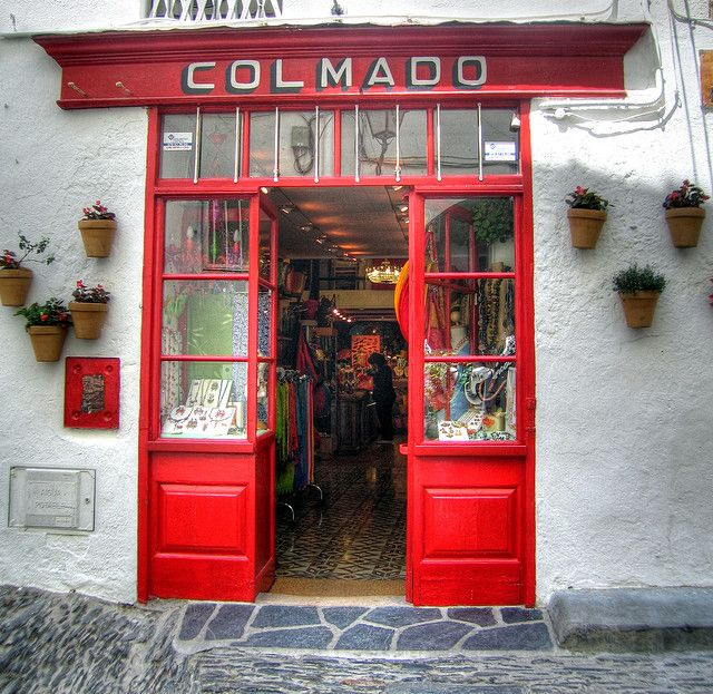 distinguishedcompany:    ysvoice:  Local shop in Cadaques, Spain    by © MorBCN