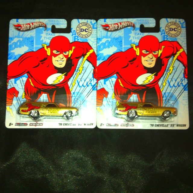 Hot Wheels/ DC comics Real Riders  1970 Chevelle SS Wagon  The Flash  #hotwheels #DCcomics #DCuniverse #TheFlash #ChevelleSS #wagon