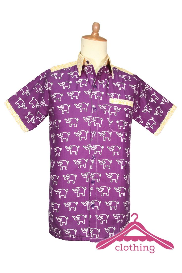 Jual Online : Baju Anak Putra Putri 05 Batik Garutan Kombinasi 2 Motif - A-Clothing.com