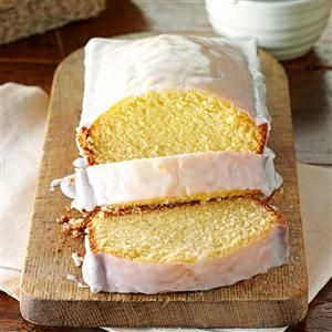 Sparkling Cider Pound Cake Recipe -This pound cake is incredible and completely reminds me of fall with every bite. Using sparkling apple cider in the batter and the glaze gives it a delicious and unique flavor. I love everything about it! —Nikki Barton, Providence, Utah