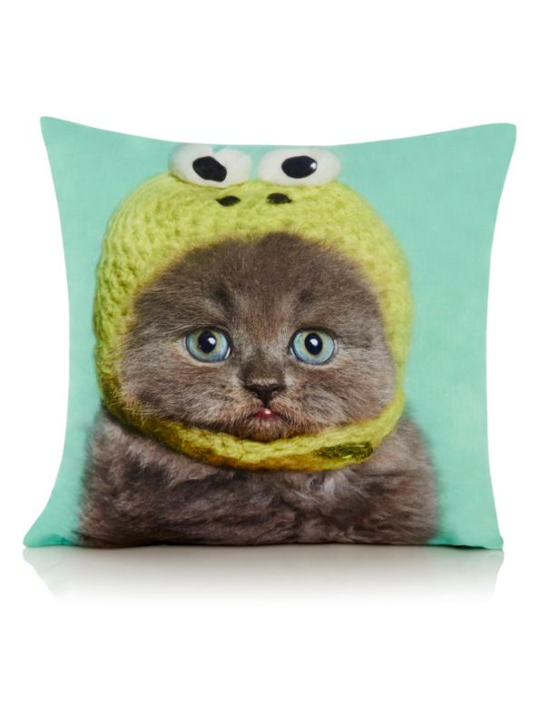 George Home Cat in Hat cushion - £7