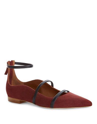 MALONE SOULIERS MALONE SOULIERSRobyn Pointed Toe Flats. #malonesouliers #shoes #flats