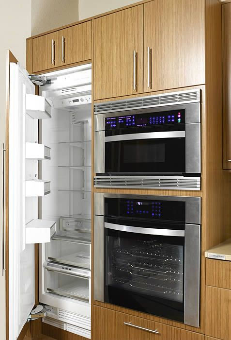 1000 images about kitchen cabinets with built in oven on for Built in oven kitchen cabinets