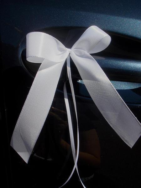 SCH0075 50 Antennenschleifen Autoschleife Hochzeit von unser schönster Tag auf DaWanda.com