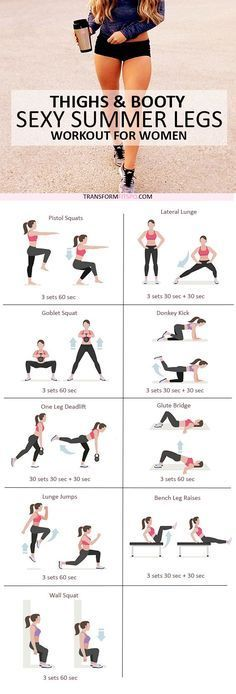 Fitness, healthy life. Summer workout for sexy thighs.