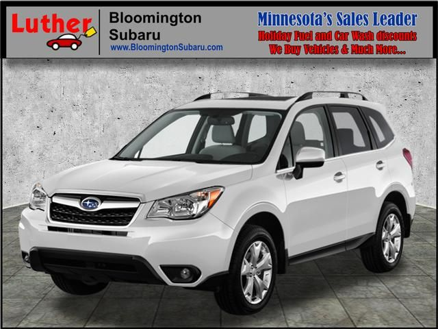 2016 Forester for sale Bloomington, MN at Luther Bloomington Subaru dealership. Subaru dealer Minnesota. New 2016 Subaru Forester 2.5i Limited (CVT) SUV in Crystal White Pearl for sale near Minneapolis, MN. Leather Seats. Dual Moonroof. Heated Driver Seat. AWD. MP3 Player. Forester for sale Minnesota. Subaru SUV for sale Minnesota. >>