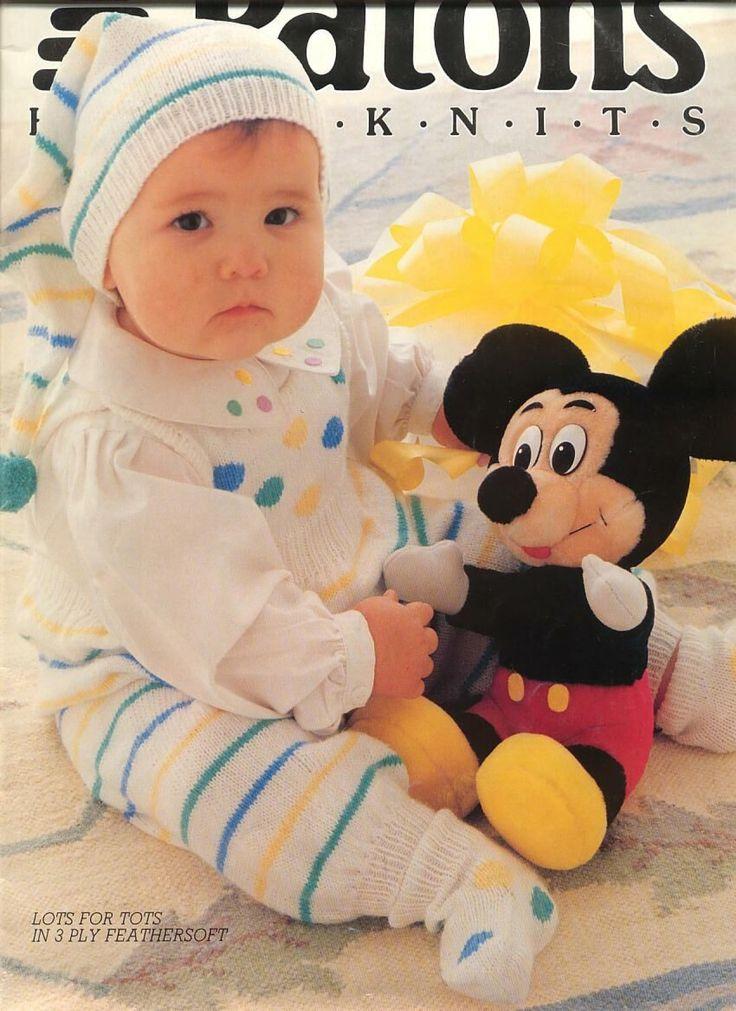 Mejores 4733 imagenes de Baby Patterns en Pinterest Patrones de bebe, Tejer...
