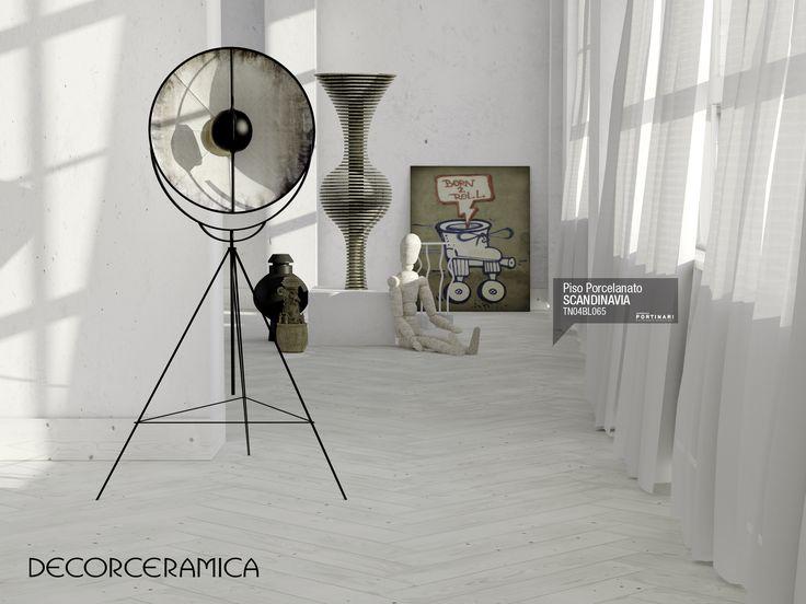 El piso Scandinavia es un diseño inédito inspirado en la madera envejecida, donde la Impresión Digital ha grabado con un realismo extraordinario las vetas y los nudos propios del abeto. lEER MÁS http://bit.ly/1e7BYXV #ideasdecor #decorceramica #portinari