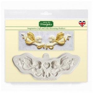 Katy Sue silikónová forma Ornamentálni Anjeli (Ornamental Cherubs)